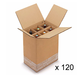 Mega Pack Emballages 720cols - de cartons 6